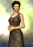 Portrait of a Romulan Woman by timberoo