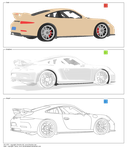 Porsche 911 GT3 - online base, free to use by JacobMainland