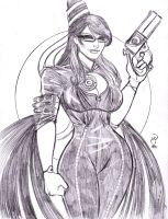 5 for $55 Special: Game Ladies 2 of 5 (Bayonetta) by MichaelPowellArt