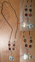 Lucky Coin Necklace by Leathurkatt-TFTiggy