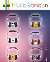 Icon's Music Ramdon By PiitufiitoGrr by PiitufiitoGrr
