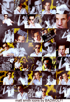 Matt Smith iconset by RosieZombified