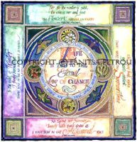 The Four Seasons Calligraphy by fanitsafantasy