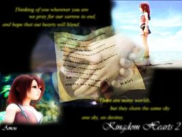 Kingdom Hearts 2 Kairi'sLetter by Wingz-of-Hate