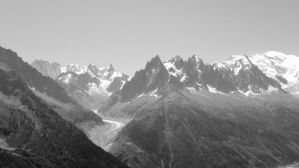Mount Blanc Range by Alontwig