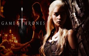 Game Of Thrones Dany Wallpaper by Mick81