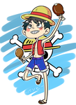 Monkey D. Luffy by satoo-yuki