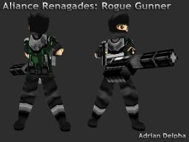 Renegade: Rogue Gunner by DelphaDesign