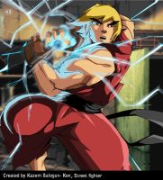 Ken Masters (Street Figher) by Kazemb