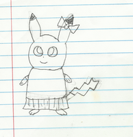 Carrie the pikachu info by cremep0ps