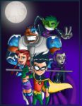 Teen titans by thorcus colored by kizmvp