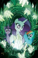 My Little Pony #8 Emerald Knights Variant by TonyFleecs