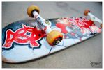 Skaterzville Skateboard no.6 by jpnunezdesigns