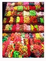 candy world in Barcelona by llorgo