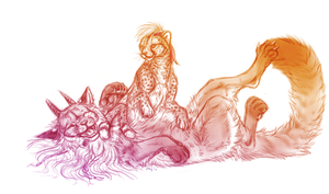 Cheetah Rubs by Maquenda