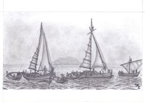Rakatan Fishing Fleet by Master-Cyrus