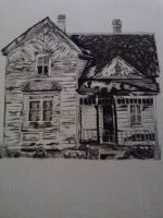 Drawing The Old House by hadyzero