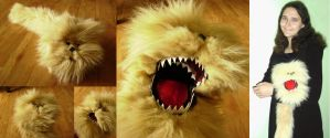 Dark Crystal: Fizzgig Puppet by Risachantag