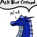 Ask Blue Crescent! by Wolfox-the-Icewing