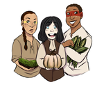 Colonial cuties and the 3 sisters by Alexander-Rowe