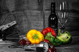 Still Life Pop Color by Partists