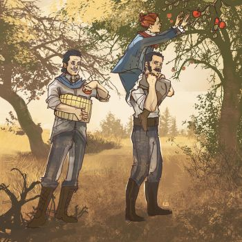 Apple Picking by Kenu