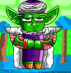 Chibi Piccolo by Evil-Black-Sparx-77