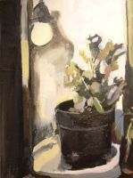Good still life tonal painting by JeannetteEgan