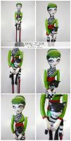 Visual Doll 27 - Zoe and Edgar by visualdolls