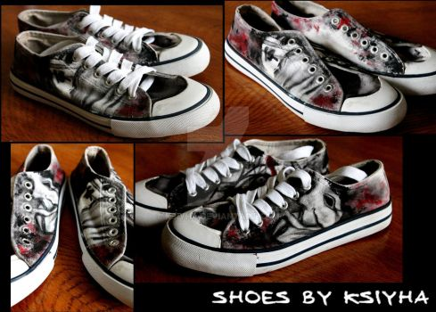 shoes by ksiyha