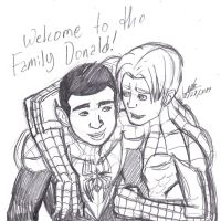 Welcome to the Marvel Family Donald!! by ConstantM0tion
