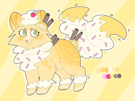 Lemon Cake Kitty Auction - CLOSED by catpaths