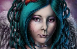 Flora's detail by Lilith-Symphony