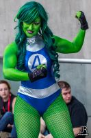 NYCC 2013 - She-Hulk by SpideyVille