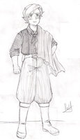 Gaucho Sketch by Peule-Merina