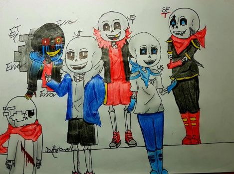 Many Sans by Hiromed