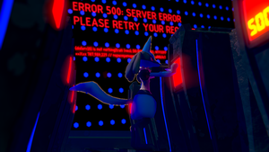 Lucario - Server Error [3D DOWNLOAD] by TheModerator