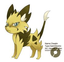 Fakemon: Cheatin by FluffyFluffs