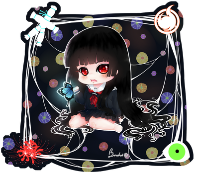 Won't You Try Dying This Once? ~ Chibi Enma Ai by Burucheri