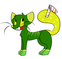 Mountain Dew Juice Cat by Noodle-Nerd