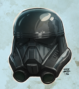 Dark Trooper from Rogue One by DanielMead