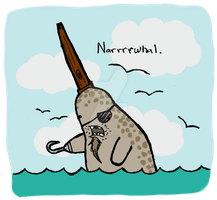Narrrrwhal by Effulgently