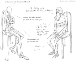Therapy Session with Slender #1 by Tragondor-Silverwing