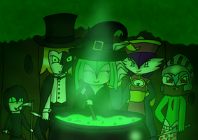 Halloween Brewing by Trifong