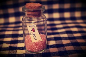 Love in a jar. by Ellieeh