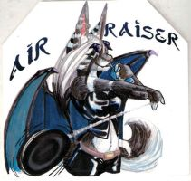 Airraser badge by lizspit