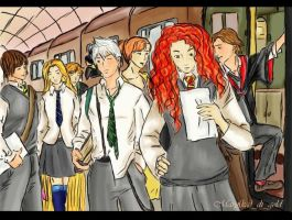 Back to school by Maryka-di-gold