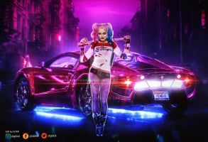 Suicide Squad: Harley Quinn by GOXIII