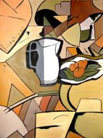 Cubism - The Pitcher by MADMeL