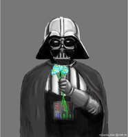 Vader's flowers by Volante-Icaro